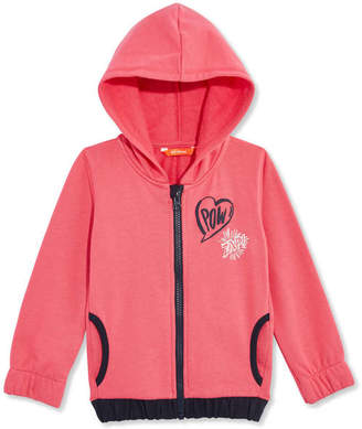 Joe Fresh Toddler Girls Graphic Zip Hoodie