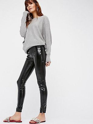 Patent Vegan Leather Leggings by Blank NYC $98 thestylecure.com