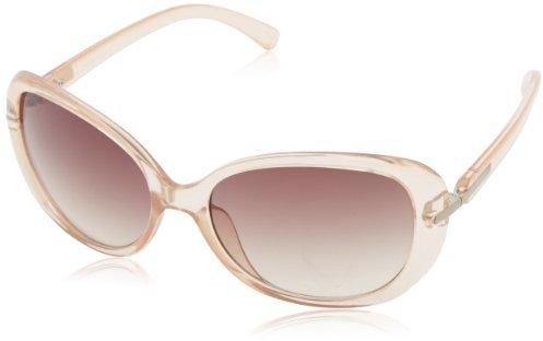 Calvin Klein Women's CWR674S-414 Oval Sunglasses