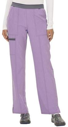 Scrubstar Women's Active Collection Heathered Stretch Scrub Pant with Mesh Contrast