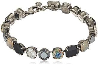 Sorrelli Onyx Clover Bracelet