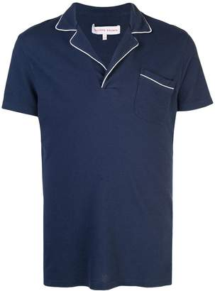 Orlebar Brown Donald piped polo shirt