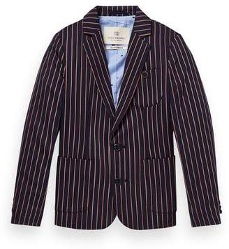 Scotch & Soda Striped Blazer