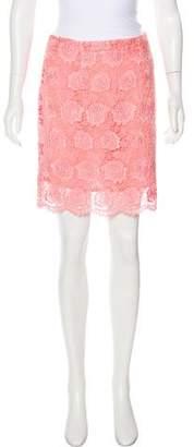 Christopher Kane Lace Mini Skirt