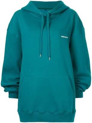 Ader Error oversized logo hoodie