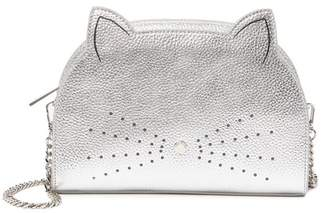 18e5f24ec0a1 Ted Baker Kirstie Cat Leather Crossbody Bag