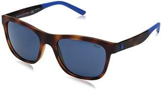 Polo Ralph Lauren Men's Injected Man Wayfarer Sunglasses