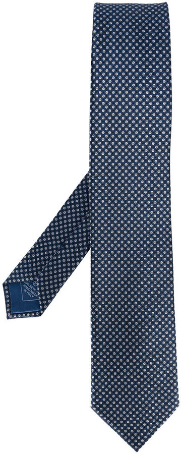 BrioniBrioni dotted pattern tie