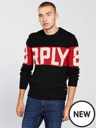 Replay Rply Knitted Jumper