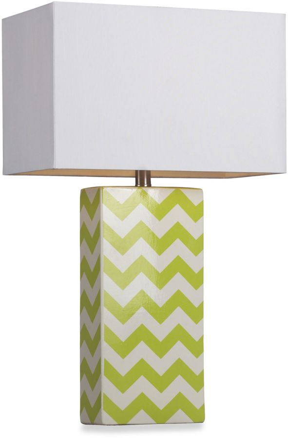 Bed Bath & Beyond Graphic Control Table Lamp