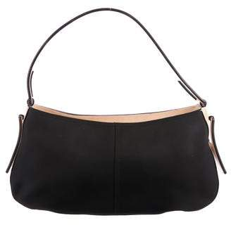 Givenchy Leather-Trimmed Nylon Shoulder Bag