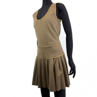 See by Chloe Khaki Cotton Dresses