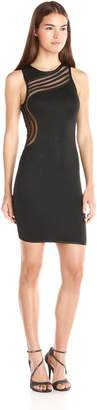 Wow Couture Women's Sleeveless Bodycon Dress with Side Detail