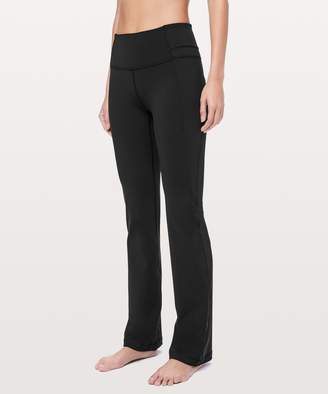 """Lululemon Groove Pant Bootcut *Online Only 32"""""""