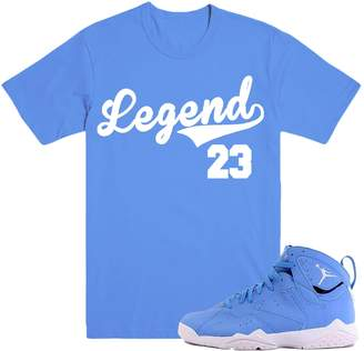 Pantone DapperSam Clothing LEGEND 7's Sneaker Match T-Shirt Tees, Retro