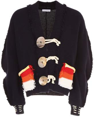 J.W.Anderson Oversized Cardigan With Pockets