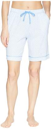 Nautica Printed Bermuda Shorts Women's Pajama
