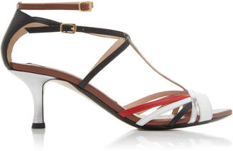 N°21 Multi Colored Leather Sandals