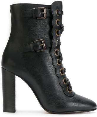 Chloé Orson high heeled booties