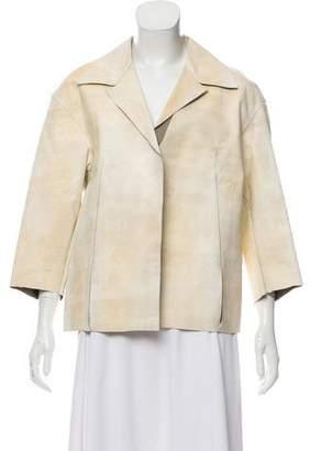 Marni Open Front Notch-Lapel Jacket