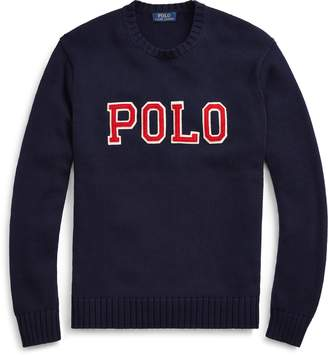 Ralph Lauren Cotton Crewneck Sweater