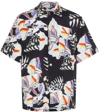 Our Legacy crushed tiles print shirt