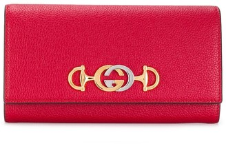 Gucci Zumi continental wallet