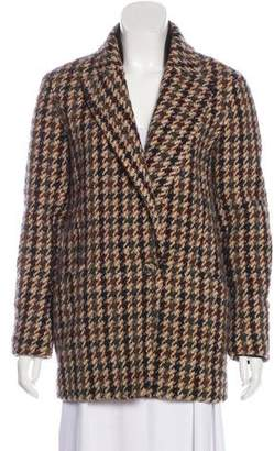Theory Wool Houndstooth Blazer