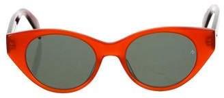 Rag & Bone Cateye Acetate Sunglasses