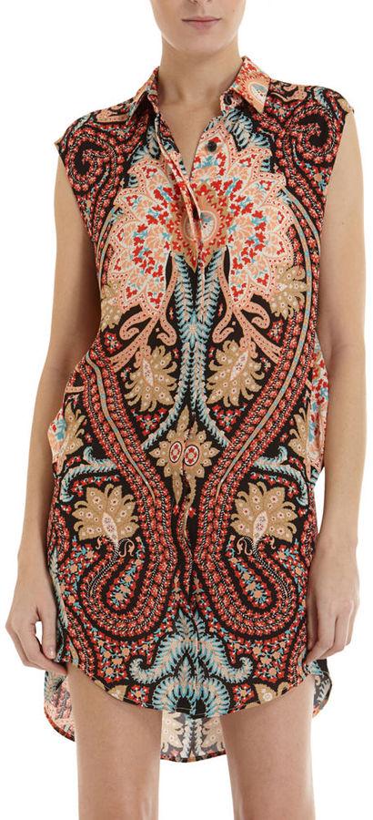 Thakoon Paisley Shirt Dress