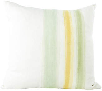 One Kings Lane Vintage Hand-Painted Pillow - Madcap Cottage