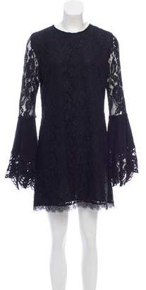Alexis Lace Bell-Sleeve Dress