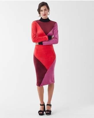 Splendid X Margherita Velour Dress