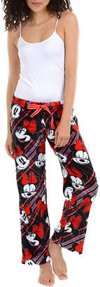 Disney Womens Fleece Pajama Pants Minnie Mouse
