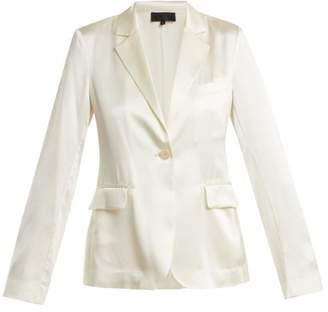 Nili Lotan Mireu Silk Jacket - Womens - Ivory
