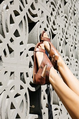 Soto Washed Leather Sandal by Bed Stu at Free People $128 thestylecure.com