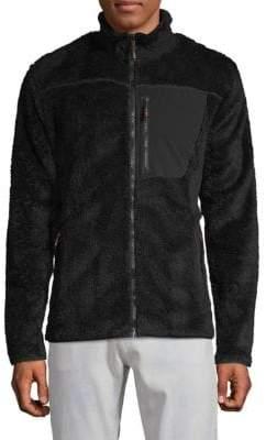 Hawke & Co Classic Faux Fur Jacket
