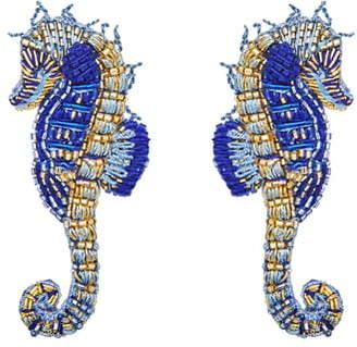 Mignonne Gavigan Beaded Seahorse Earrings