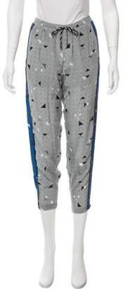 Jonathan Simkhai Printed Silk Pants