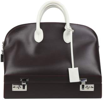 Calvin Klein Leather travel bag