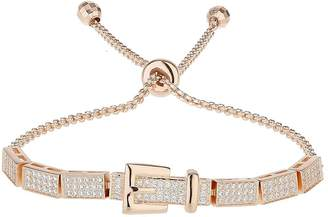Mikey Cubic Belt Embed Tie Up Bracelet