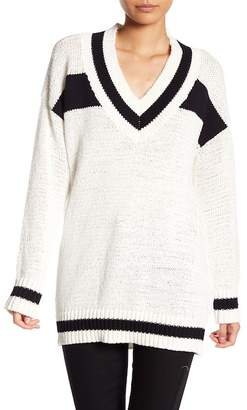 KENDALL + KYLIE Kendall & Kylie Knit Rugby Sweater