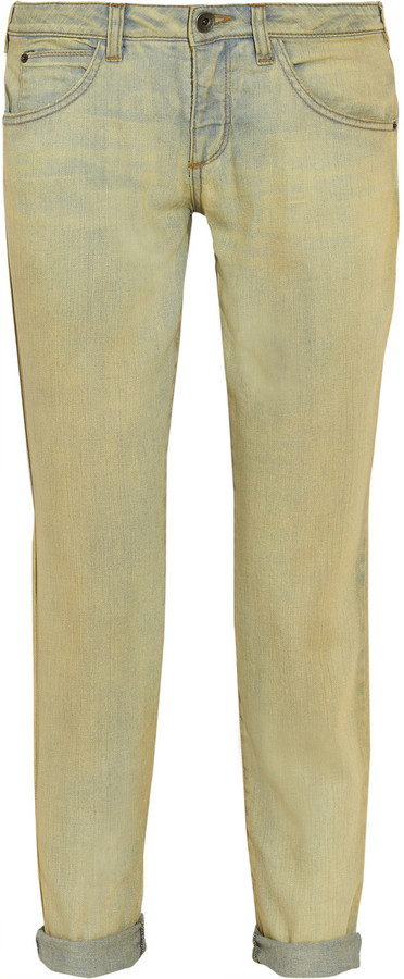 Theyskens' Theory Penny mid-rise straight-leg jeans