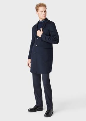 Giorgio Armani Double Cashmere Coat