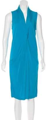 Diane von Furstenberg Baker Draped Dress