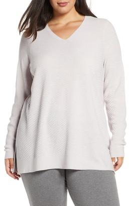 Eileen Fisher V-Neck Wool Tunic