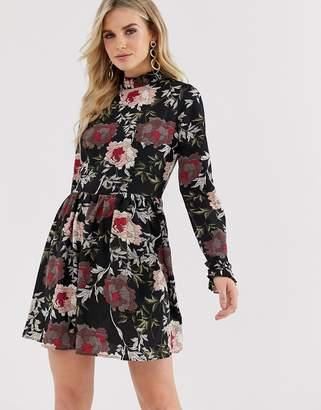 AX Paris floral print shift dress