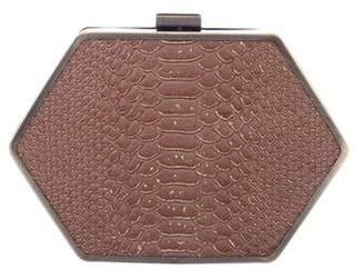 House Of Harlow Embossed Zola Clutch
