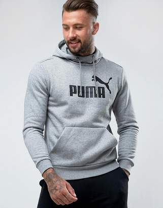 Puma ESS No.1 Pullover Hoodie In Gray 83825703