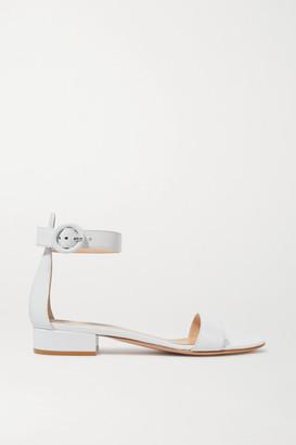 Gianvito Rossi Portofino 20 Leather Sandals - White